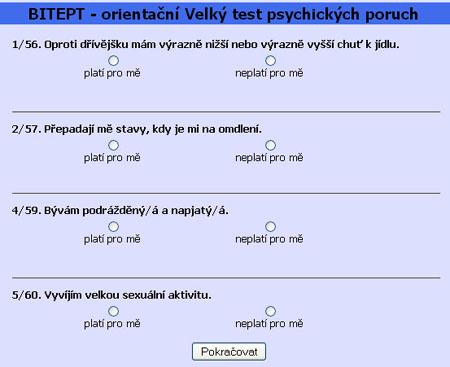 Psychotest BITEPT