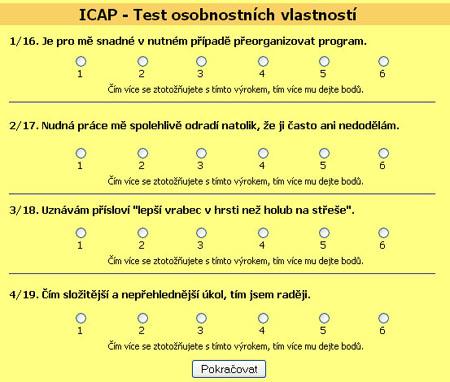 Test ICAP