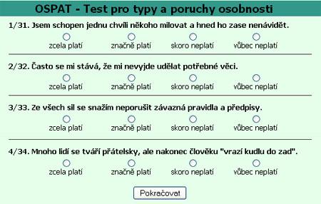 Psychotest OSPAT